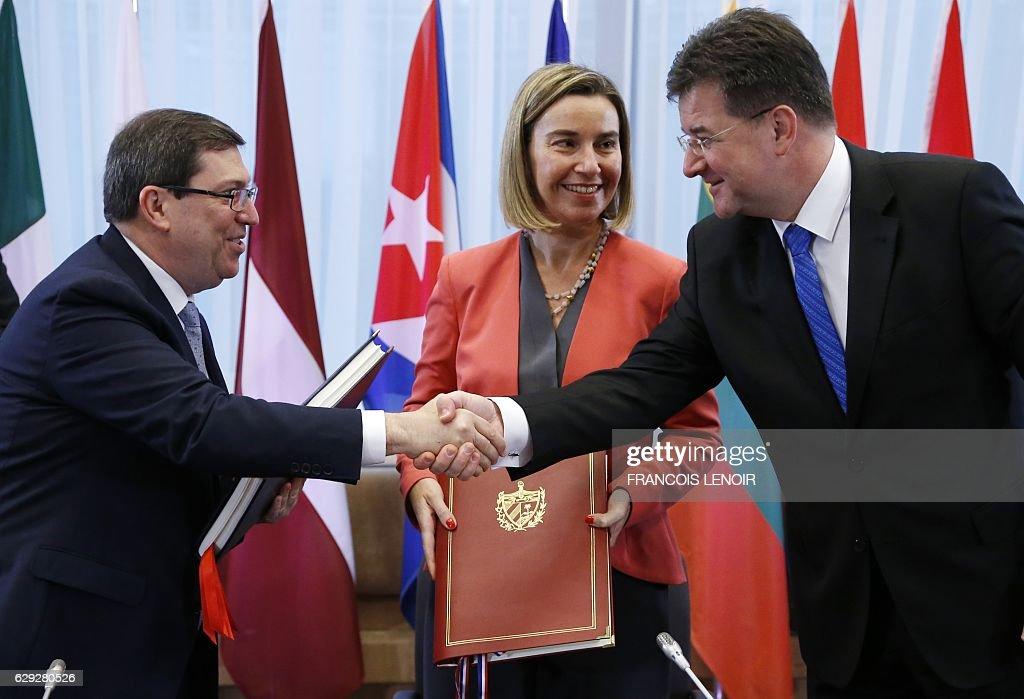 BELGIUM-EU-CUBA-POLITICS : Nachrichtenfoto