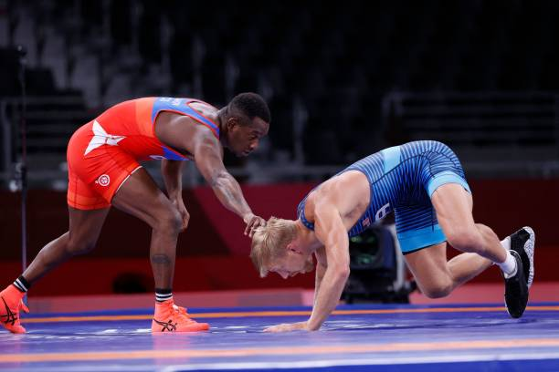 JPN: Wrestling - Olympics: Day 14