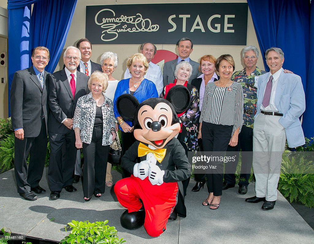 The Walt Disney Company Hosts A Special Stage Rededication Ceremony For Annette Funicello : News Photo