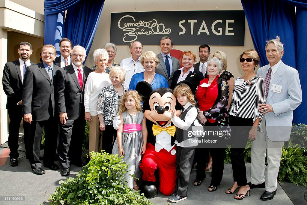 "Stage One Rededication Ceremony Hosted By Walt Disney Company CEO Bob Iger Honoring ""America's Sweetheart"" Annette Funicello : News Photo"