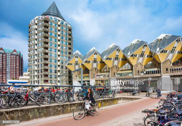 cube houses and Pencil Bldg. Rotterdam