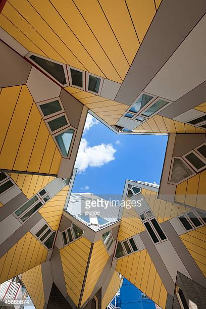 cube houses in rotterdam netherlands xxxl image - rotterdam stock pictures, royalty-free photos & images