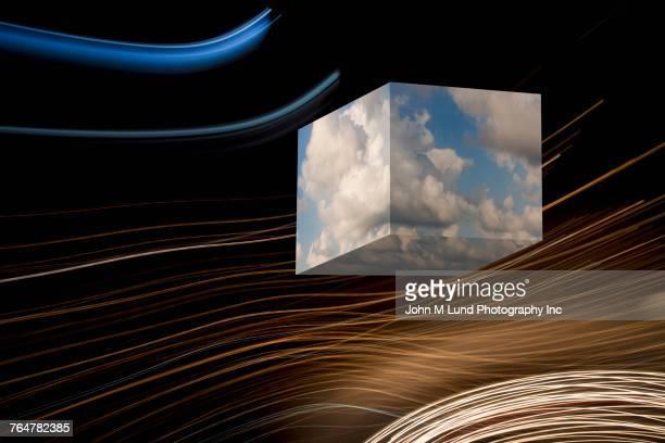 Cube of cloud computing in internet waves