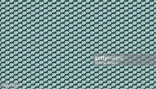 cube pattern abstract - graphic print stock pictures, royalty-free photos & images
