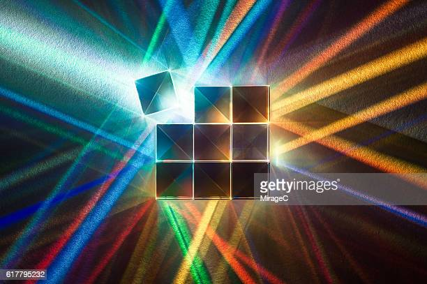 Cube Prism Refraction