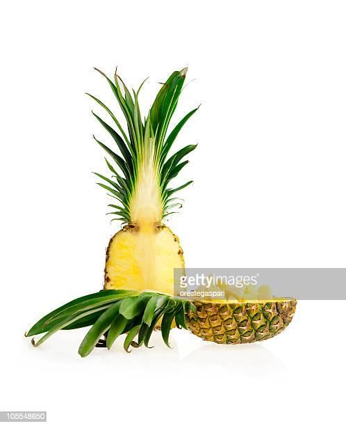 Kantenlänge und slice Ananas