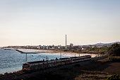 mediterranean cubelles town province barcelona