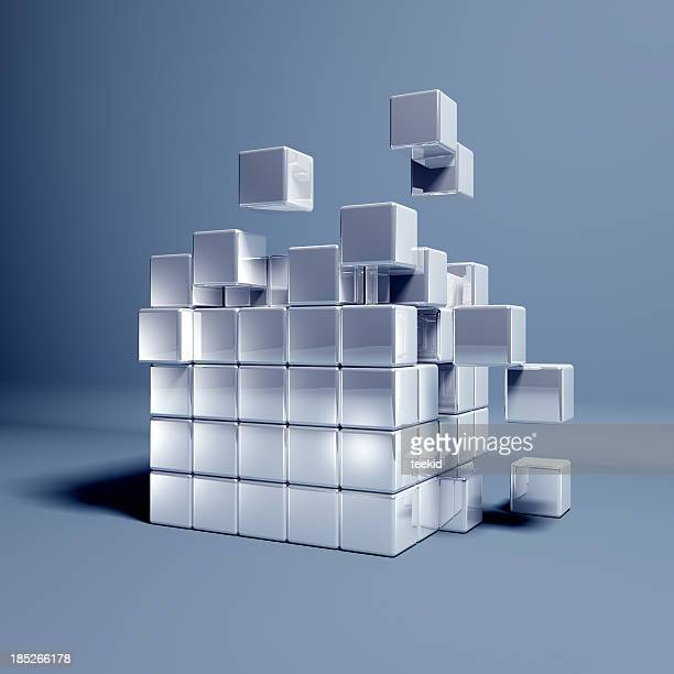 cubes - cube stock pictures, royalty-free photos & images