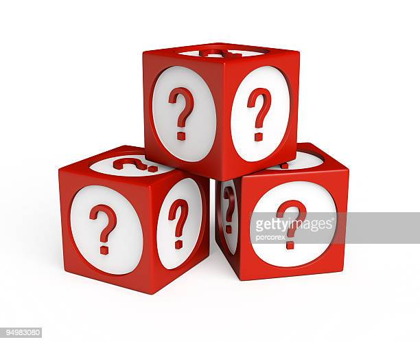 Cubes with Question Marks
