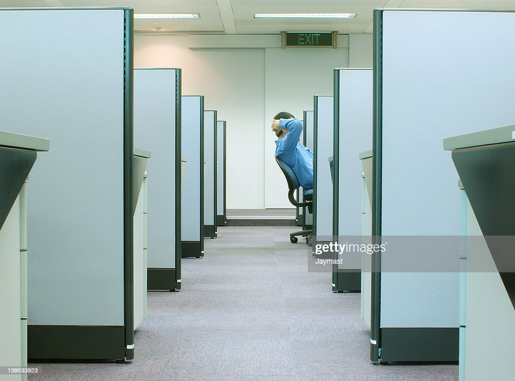 cubicles - office series 2 : Stock Photo