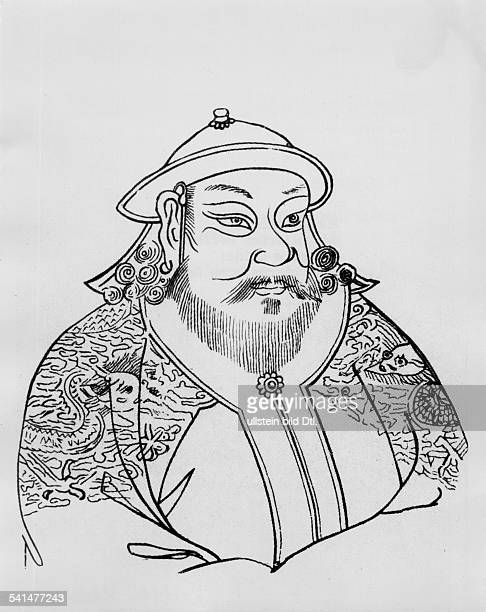 Cubilai / Kubilai Chan2309121518021294mongolischer Herrscher Enkel Tschingis Chansseit 1260 Grosskhan der Mongolen / Herrscher über China seit 1264...