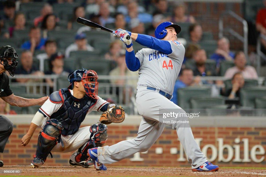MLB: MAY 15 Cubs at Braves : News Photo