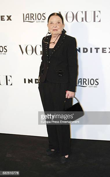 Cuca Solana attends Vogue Who's On Next party on May 18 2016 in Madrid Spain
