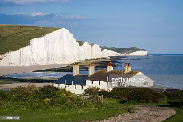 Cuckmere Haven, the Seven Sisters, West Sussex, England