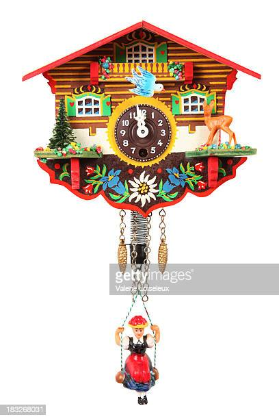 cuckoo clock - souvenir stock pictures, royalty-free photos & images