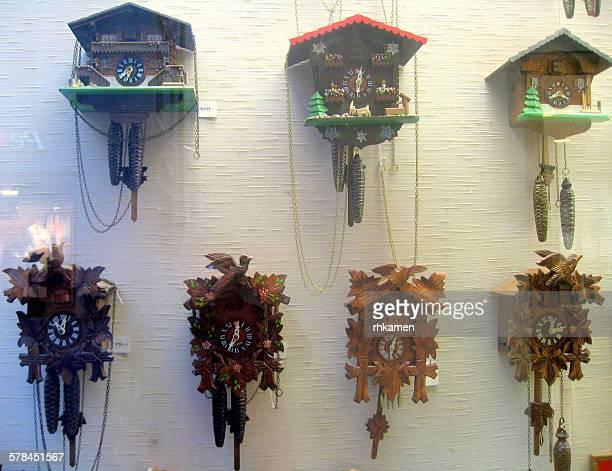 Cuckoo clocks, Zurich, Switzerland