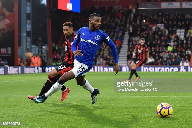 Cuco Martina of Everton on the ball during the Premier League match between AFC Bournemouth and Everton at the Vitality Stadium on December 30 2017...