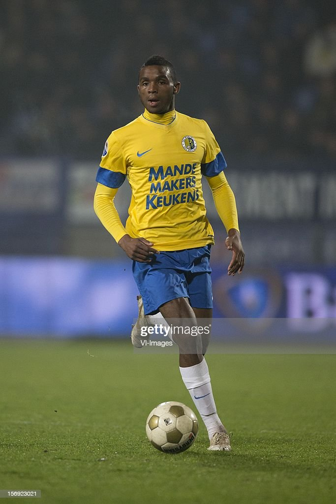Cuco Martina of RKC Waalwijk during the Dutch Eredivisie match between RKC Waalwijk and FC Groningen at the Mandemakers Stadium on November 24, 2012 in Waalwijk, The Netherlands.