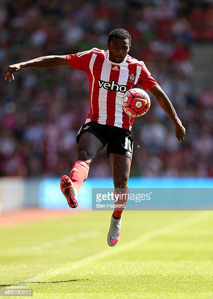Cuco Martina of Southampton in action during the pre season friendly match between Southampton and Espanyol at St Mary's Stadium on August 2 2015 in...
