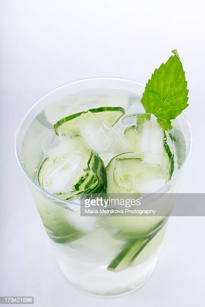 Cucumber ice water