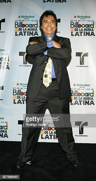 Cucuy De Los Andes during 2006 Billboard Latin Music Conference and Awards Press Room at Seminole Hard Rock Hotel and Casino in Hollywood Florida...