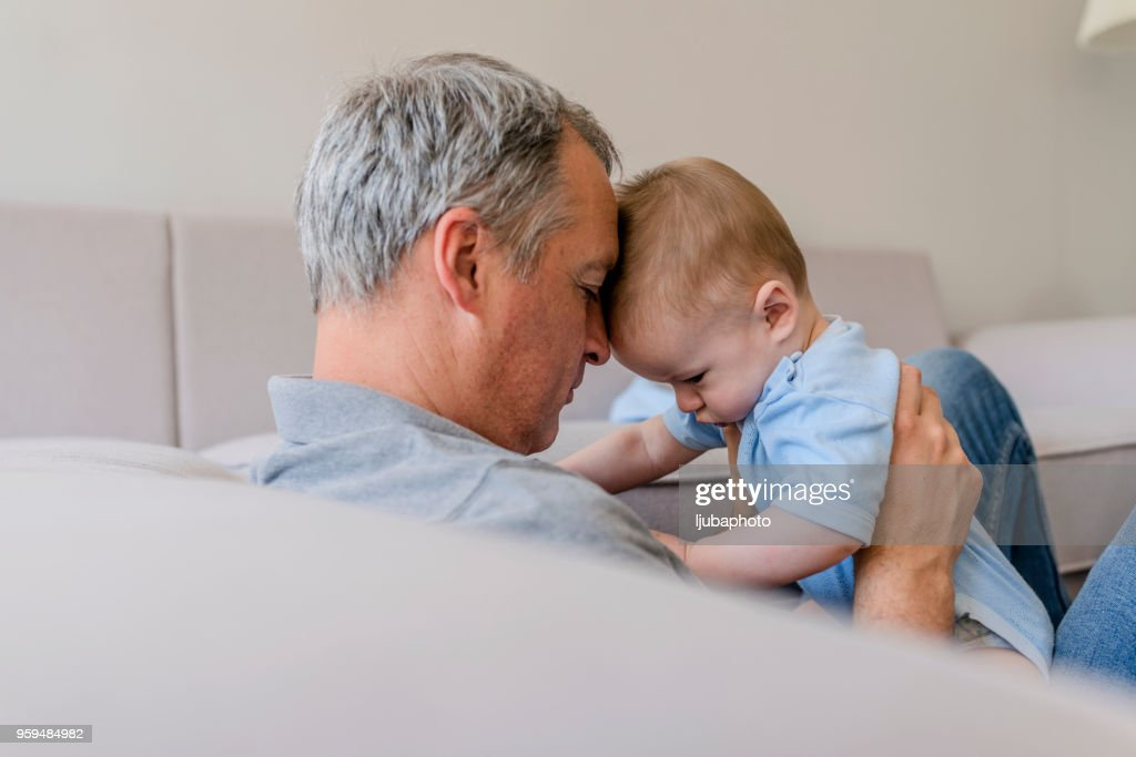 Cuddling with a cutie : Stock Photo