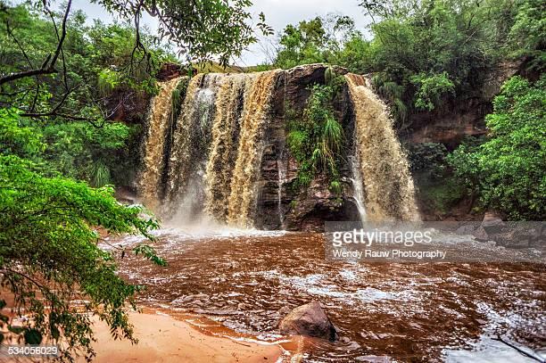 cuevas waterfall of samaipata, bolivia - santa cruz de la sierra bolivia fotografías e imágenes de stock
