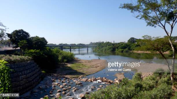 cuiaba river and pollution - cuiaba river stock pictures, royalty-free photos & images
