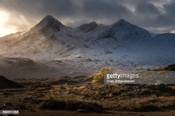 Cuillin mountains Sligachan , Isle of Skye, Scotland, UK.