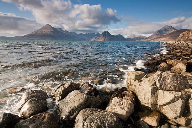 Cuillin Range From Elgol, Isle Of Skye Wall Art