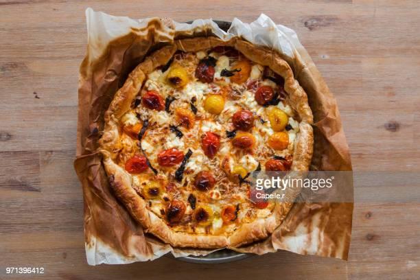 cuisine - pizza italienne maison - culture italienne imagens e fotografias de stock
