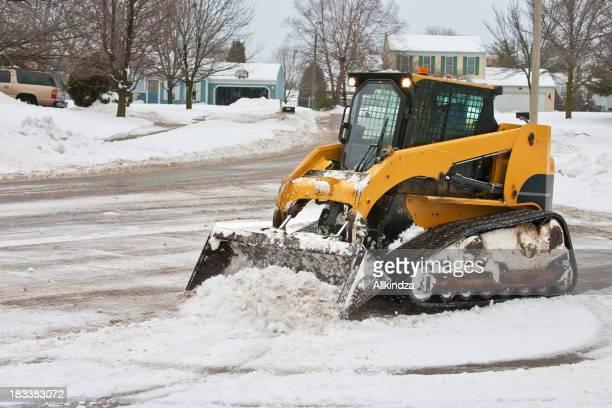 cul de sac snow cleanup