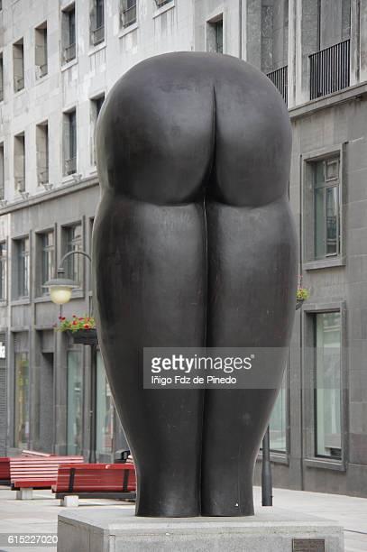 Culis monumentalibus statue- Oviedo- Asturias- Spain