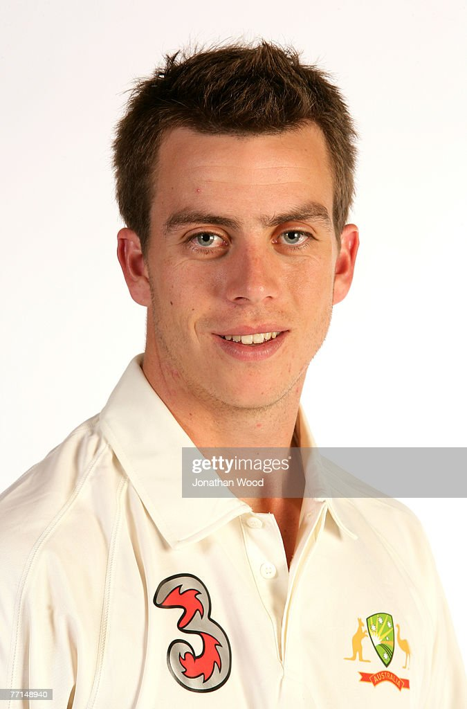 Cullen Bailey Of Australia Poses During The Australian
