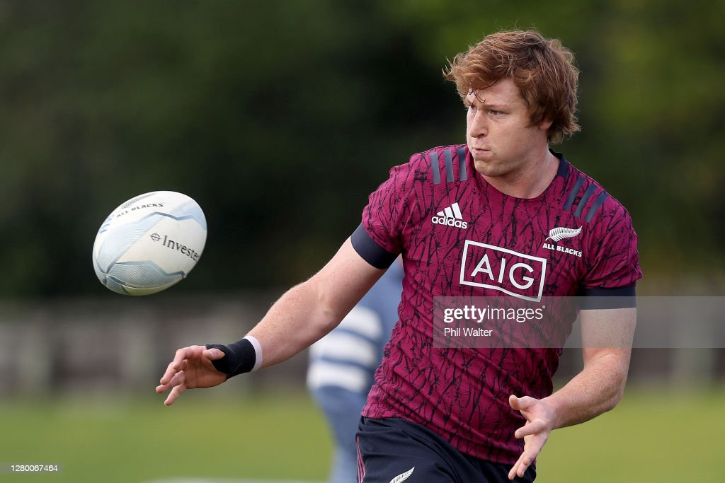 New Zealand All Blacks Training Session : Fotografia de notícias