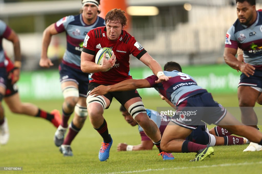 Super Rugby Rd 6 - Crusaders v Reds : News Photo