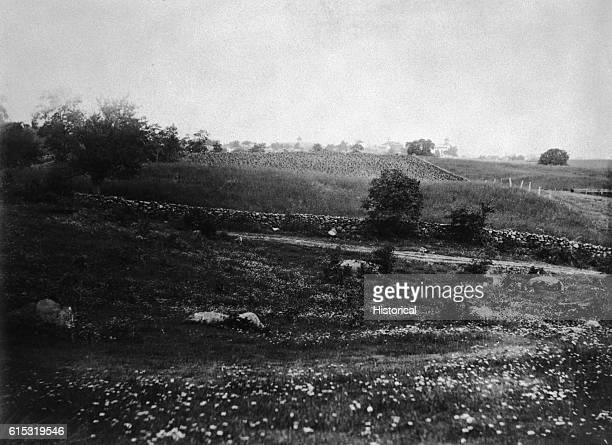 Culp's Hill Around Battle of Gettysburg