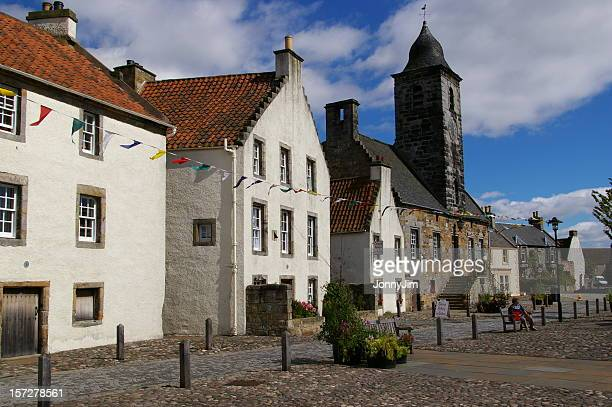 culross - fife scotland stock pictures, royalty-free photos & images