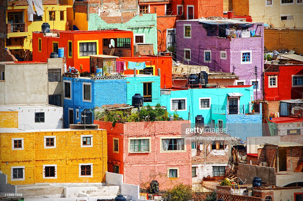 Cultural colonial cities of Mexico : Stock Photo