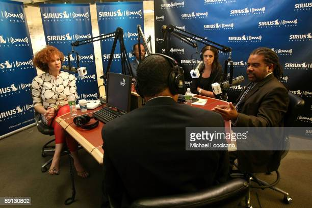 Cultural critic Michaela angela Davis Sirius XM host Joe Madison Educator Steve Perry correspondent Soledad O'Brien and Sirius XM host Mark Thompson...