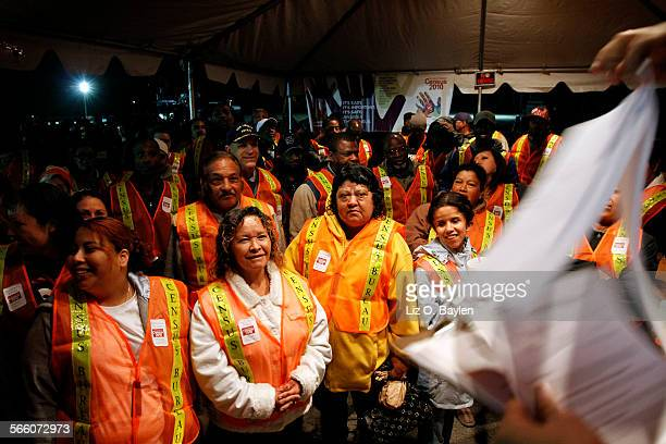 Cultural facilitators who were hired for an overnight shift to serve as liaisons between the enumerators and the homeless popultaion the Census was...