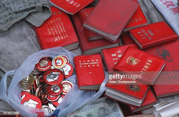 Cultural Revolution memorabilia is now in vogue Little Red Books badges old pictures depicting Red Guards and Mao Tse Tung and other scenes from the...