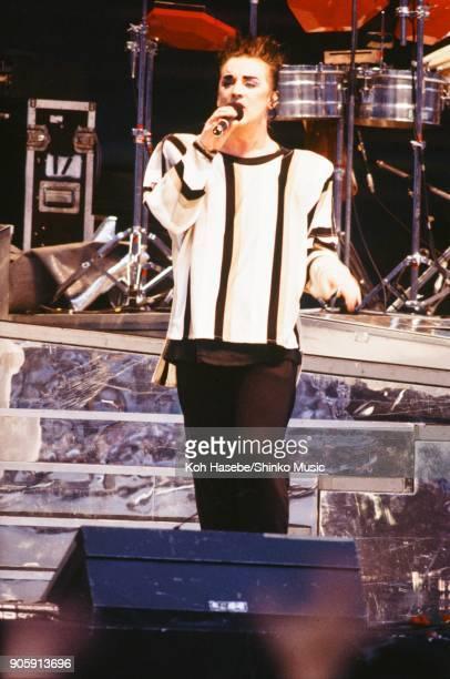Culture Club live at Yokohama Stadium ROCK IN JAPAN'85 August 10 Yokohama Japan Boy George