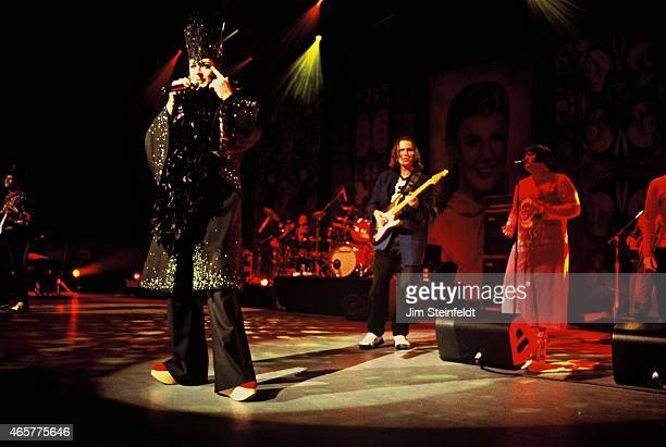 Culture Club performs at the Universal Amphitheatre in Los Angeles California on January 6 1998
