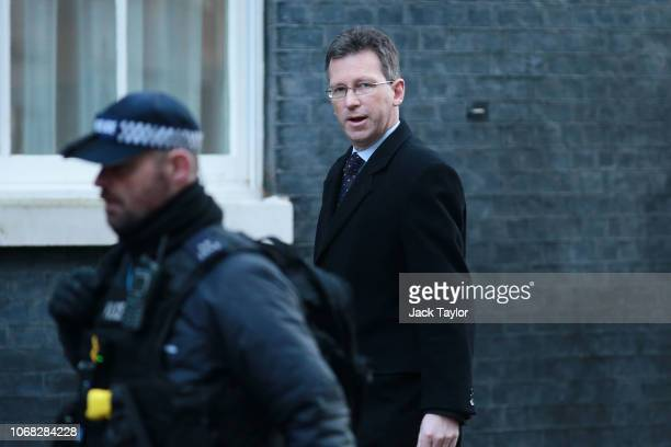 Culture Media and Sport Secretary Jeremy Wright arrives at 10 Downing Street as Ministers attend a weekly cabinet meeting ahead of a meaningful vote...