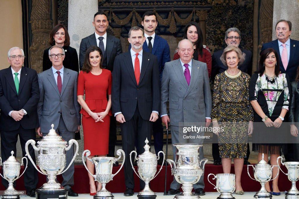 Spanish Royals Attend 'Premios Nacionales Del Deporte 2017' : News Photo