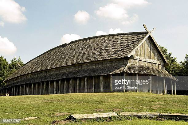 culture - longhouse stock photos and pictures