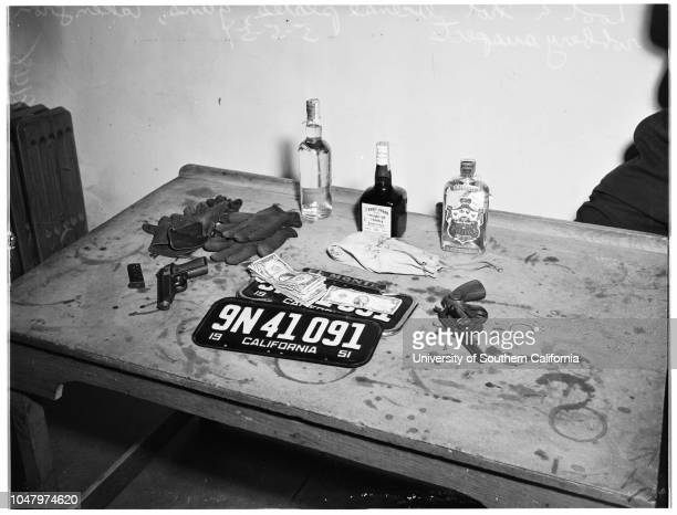 Culver City holdup May 5 1951 Dion Markopulos 18 yearsOfficer Donald EllisJack S Prizler 18 yearsPaul J Winsell 18 yearsOfficer Harold Southwickloot...