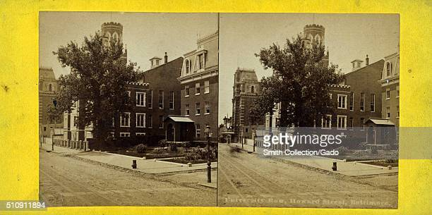 Culver City Row Howard Street Baltimore Maryland 1900 From the New York Public Library