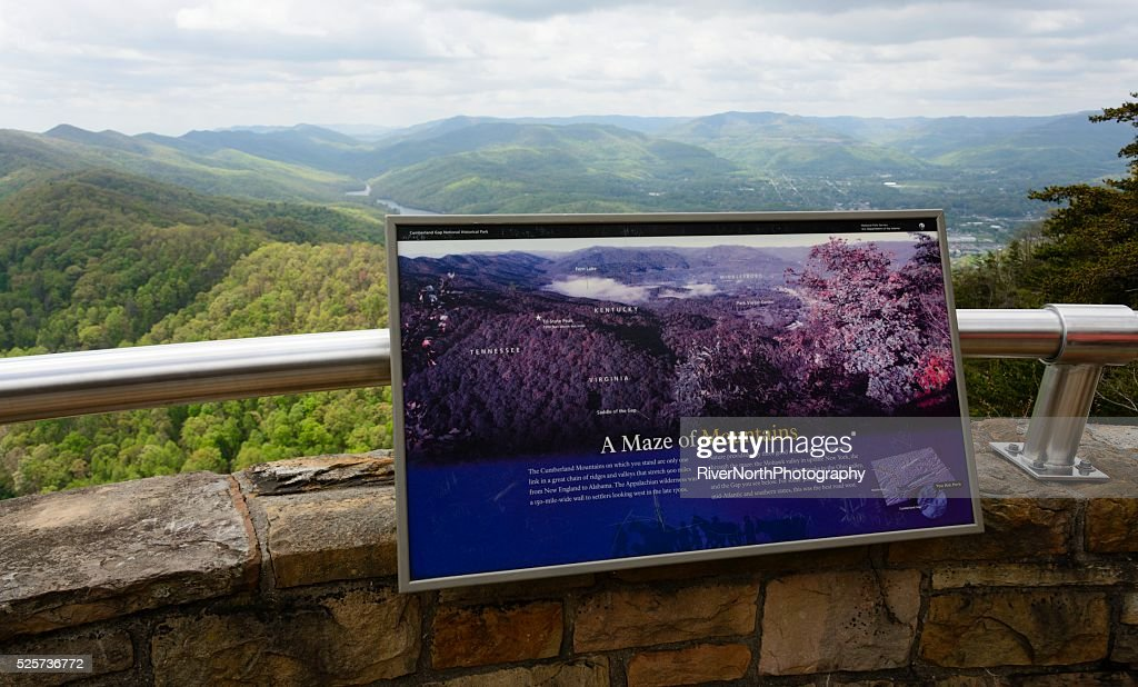 Cumberland Gap National Historical Park : Stock Photo